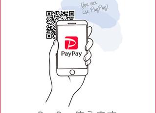 PayPayでお支払いできます