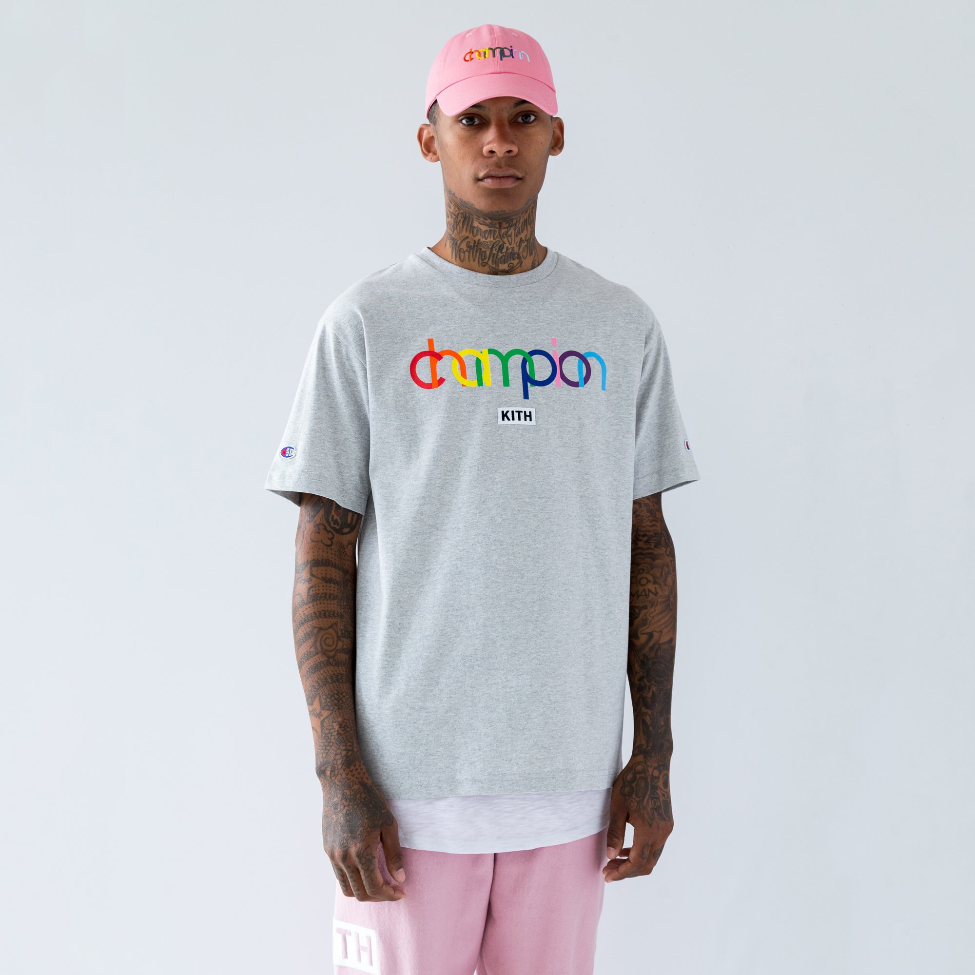 8171d5ea80e9 Kith x Champion Double Logo T-shirt | Project People