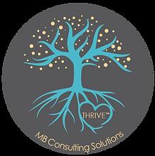 Tree Logo-Circle - Grey Background - MB