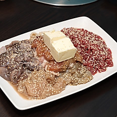 Beef, Shrimp & Squid