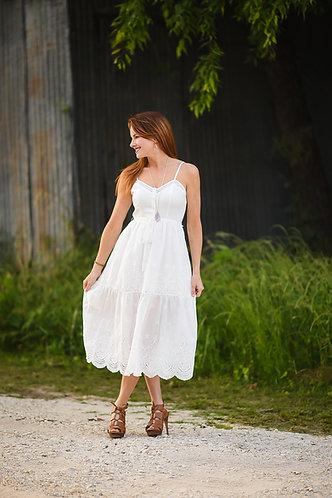 Erika Eyelet Dress