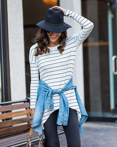 Staci Stripe Top