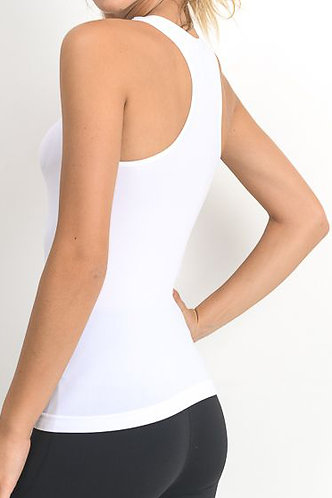 Essential Seamless Racerback Tank Top