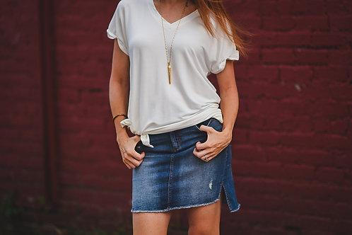 Daisy Denim Skirt