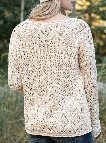 Pretty Pointelle Sweater