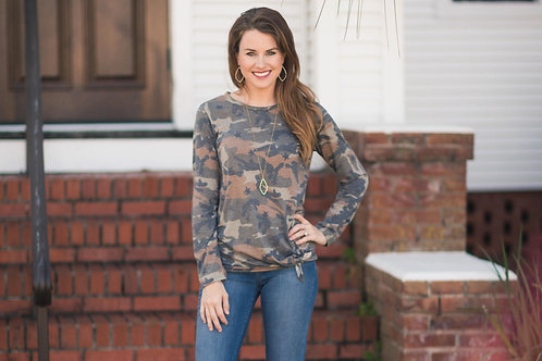 Knotted Camo Tee