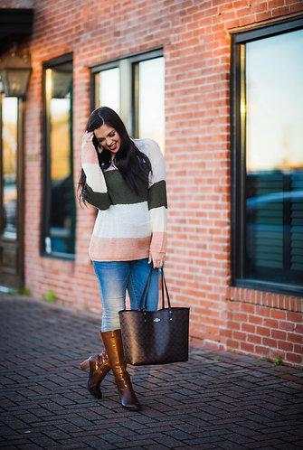 Sweet Stripes Sweater