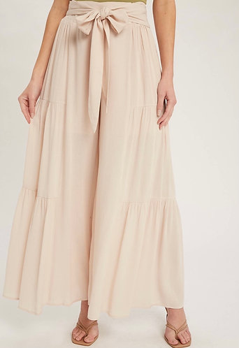 Tiered Wide Leg Pants