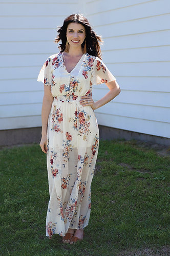 Steel Magnolias Maxi Dress