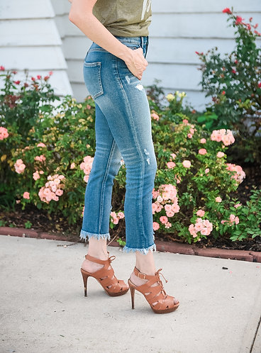 Chelsea Cropped Jeans