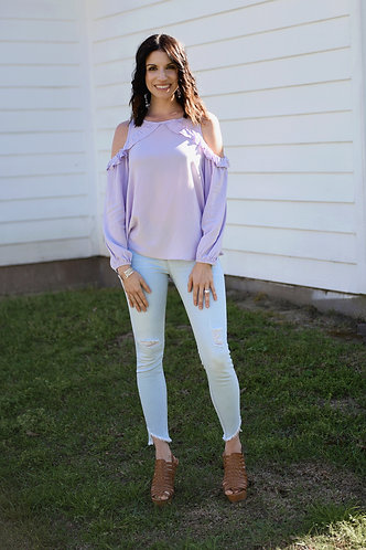Lovely in Lavender Top