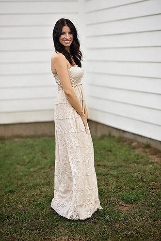 Christi Crochet Maxi Dress