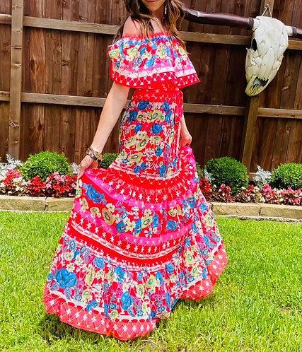 Fiesta Maxi Dress