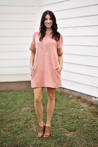 Sweet Suede Dress