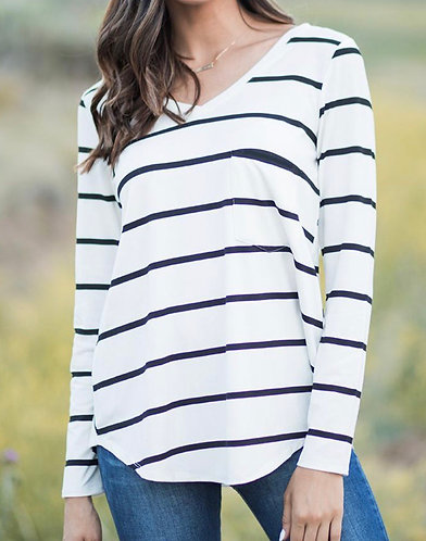 Perfect Pocket Long Sleeved Tee
