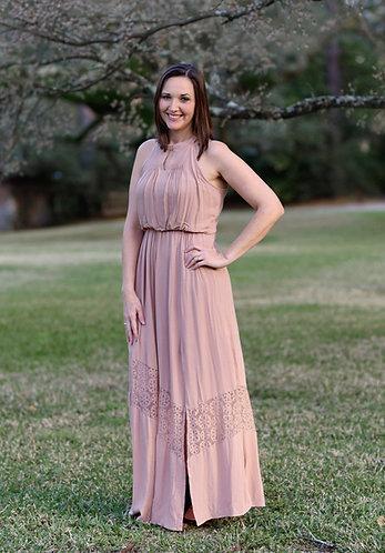 Pleated Penny Maxi Dress