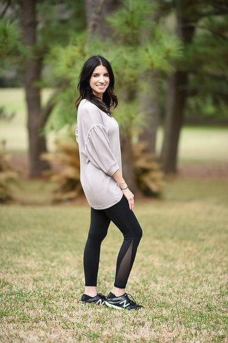 Casual High Low Lightweight Sweater