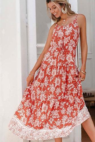 Fun in Floral Maxi Dress