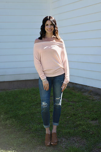 Sweet and Sassy Off the Shoulder Top