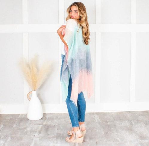 Ombré Pastels Kimono