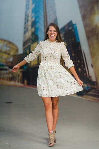 Tessa Fall Floral Dress