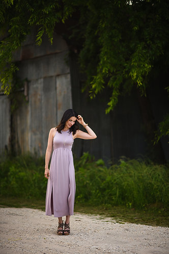 Lavender Love Maxi Dress