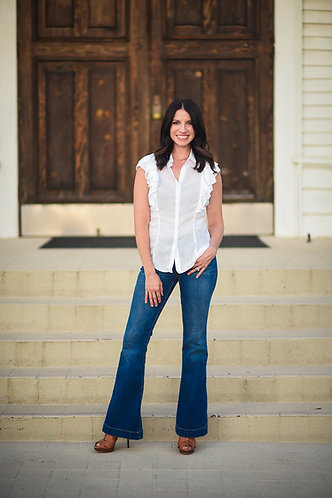 Retro Flare Jeans
