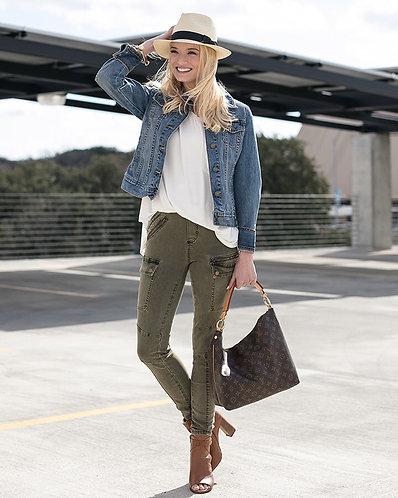 Cargo Stretch Skinny Jean
