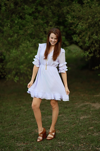 Lily's Lavendar Dress