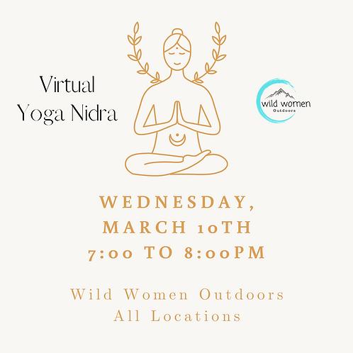 Virtual Yoga Nidra - All locations