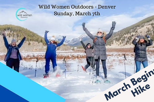 Denver Beginner Hike - March