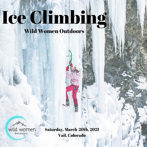 Ice Climbing 50% Deposit