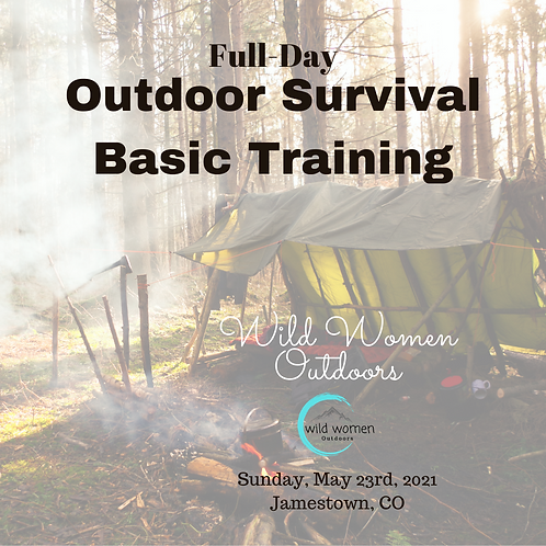 Full-Day Outdoor Survival Training - May