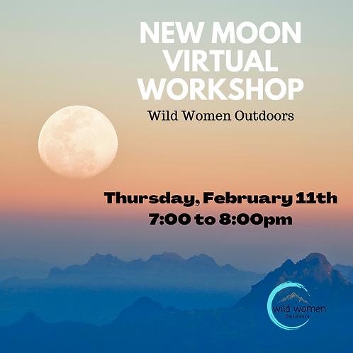 February New Moon Virtual Workshop