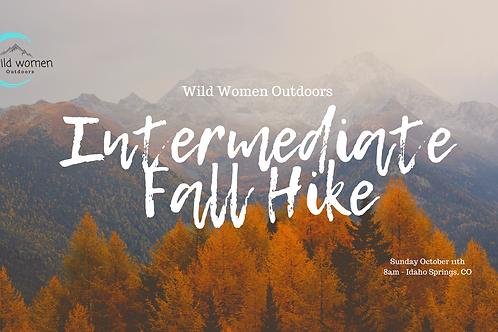 Intermediate Fall Foliage Hike - Colorado
