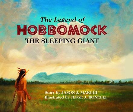 Legend of Hobbomock, hardcover book only