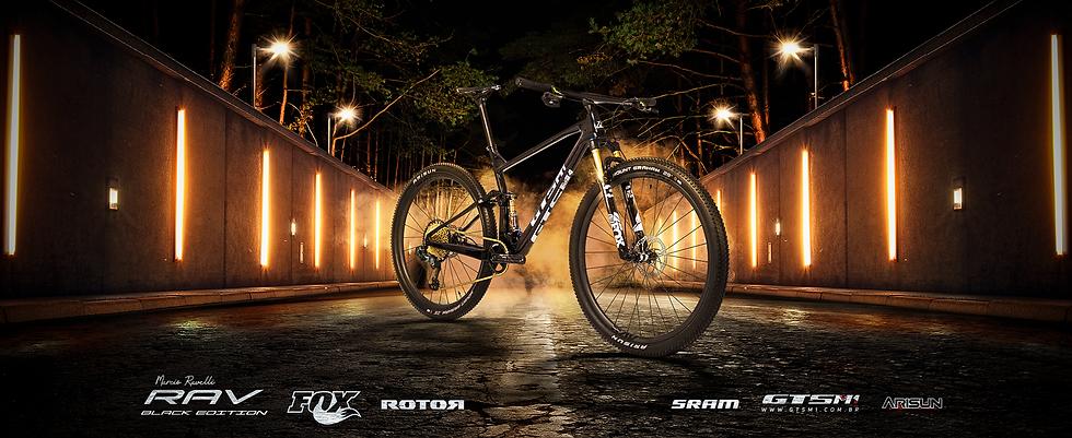 Bicicleta GTS Rav Black Edition
