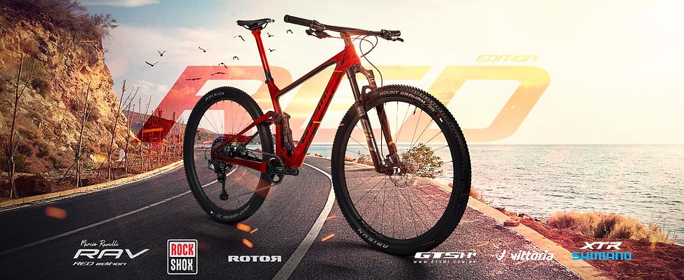 Bicicleta GTS Rav Red 29 XTR
