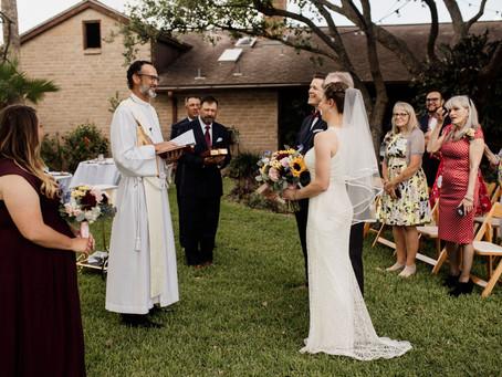 The Perfect Backyard Wedding