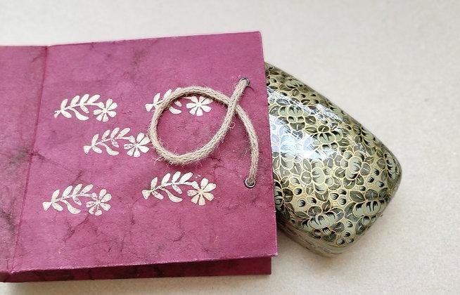 Papier-mâché Hand-Painted Box