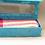 Thumbnail: Organic Cotton, Hand-Woven Scarf in a Handmade Box