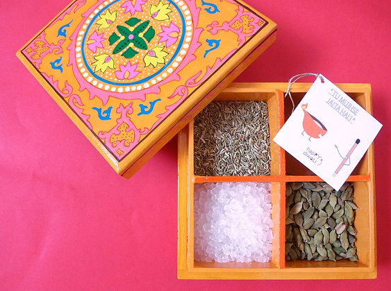Hand-Crafted Mukhwas Box