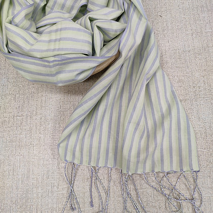 Handwoven Cotton Scarf 4