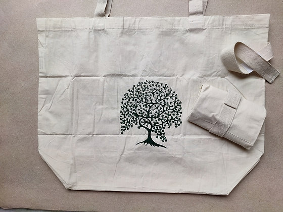 Organic Cotton Handy Bag