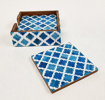 Resin Coasters Set of Four