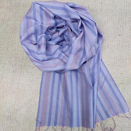 Handwoven Cotton Scarf 8