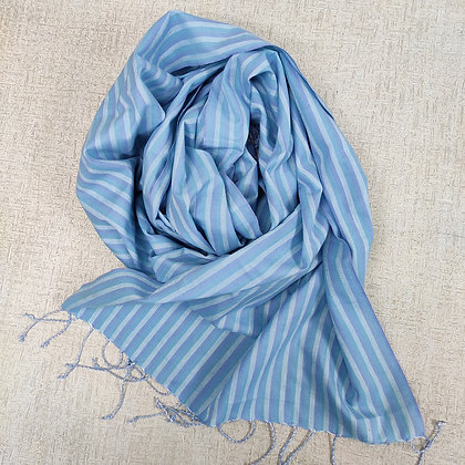 Handwoven Cotton Scarf 1