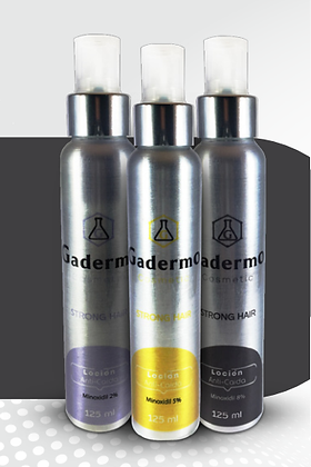 GADERMO STRONG HAIR 125 ml Locion 8%