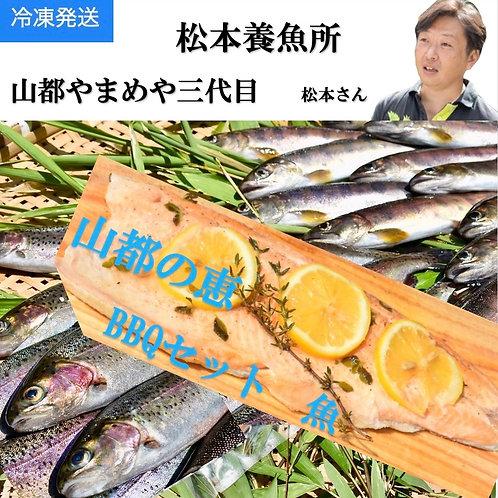 山都の恵 BBQセット 魚