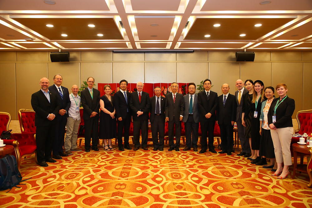 Representatives from California, Hong Kong, Beijing and Kitakyushu shared their local actions at the 2019 Beijing International Forum for Metropolitan Clean Air Actions